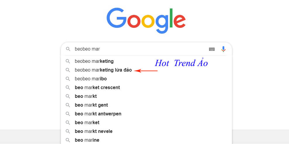 beobeo marketing lừa đảo